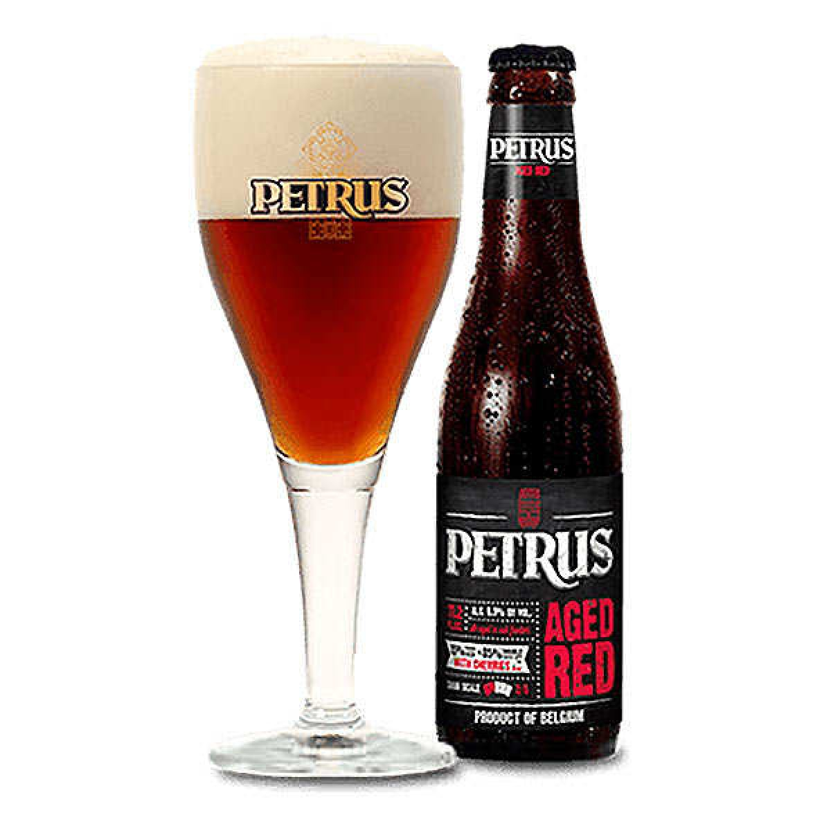 Bia Petrus Aged Red 8.5%-Chai 330ml