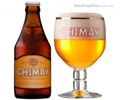 Bia Chimay Gold 8% - chai 330ml