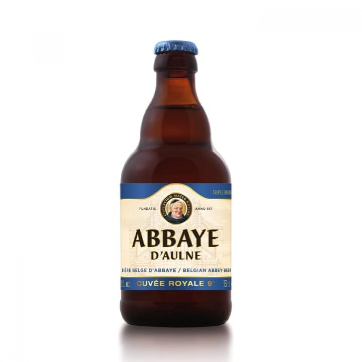 Bia Abbaye d'Aulne Cuvee Royale 9%-Chai 330ml