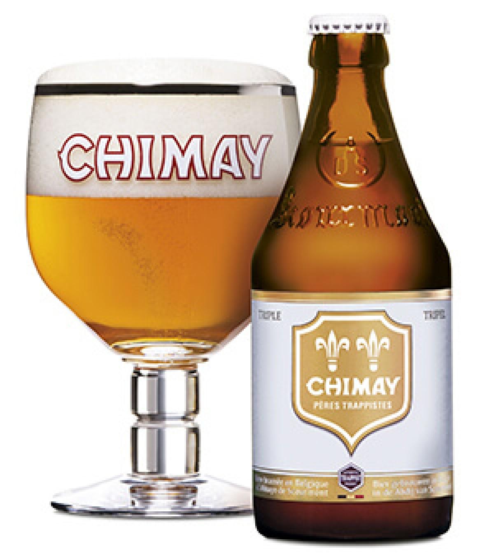 Bia Chimay Trắng 8%-Chai 330ml