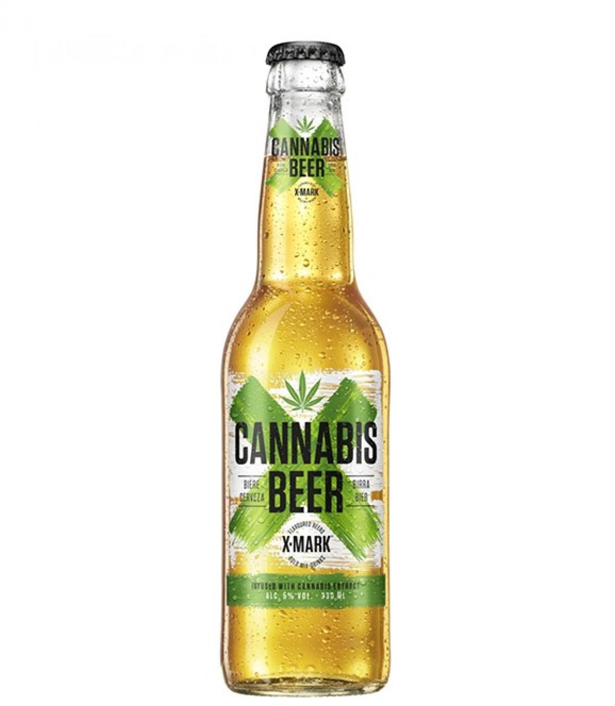 Bia X – Mark Cannabis Beer 5.9%-Chai 330ml