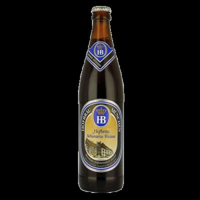 Bia HB Schwarze Weisse 5,1%-chai 500 ml