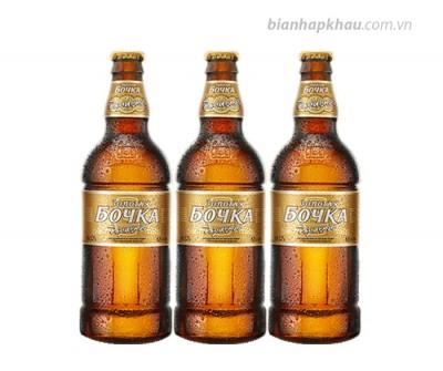 Bia Bochka vàng tươi 5,5% - chai 500 ml