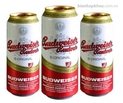 Bia Budweiser Budvar Original 5% - lon 550 ml