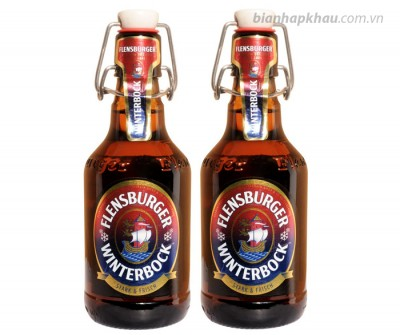 Bia Flensburger WinterBock 7% nút sứ -chai 330ml