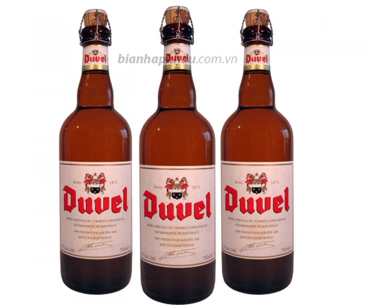 Bia Duvel 8.5% - chai 750 ml