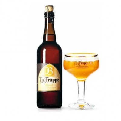 Bia La Trappe Blond 6,5% -  chai750 ml