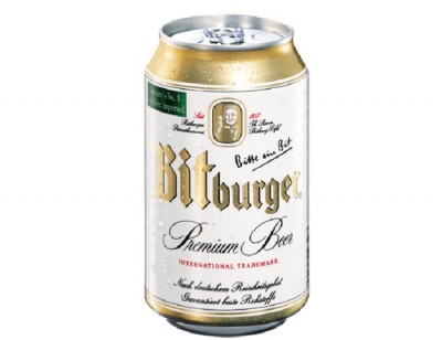 Bia Bitburger 5% - lon 330 ml