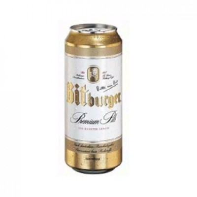 Bia Bitburger 5% - lon 500 ml