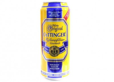 Bia béo Oetinger 4,95% - lon 500ml