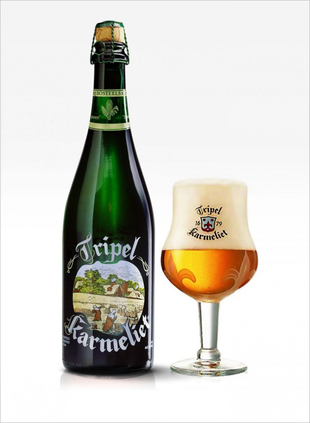 Bia Karmeliet Triple 8.4% - chai 750 ml