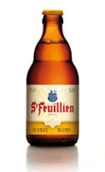 Bia St-Feuillien Blond 7,5% - Chai 330 ml