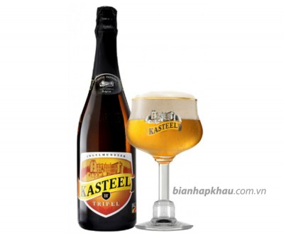 Bia Kasteel Triple 11% - chai 750 ml