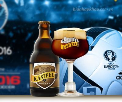 Bia Kasteel Bruin (Donker) 11% - chai 330 ml
