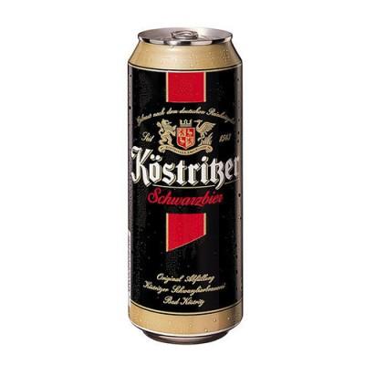 Bia Kostritzer 4,8% - lon 500ml