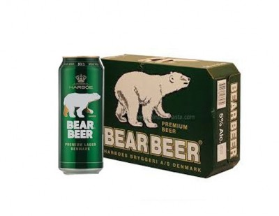 Bia Gấu/Bear Beer 5% - lon 500 ml