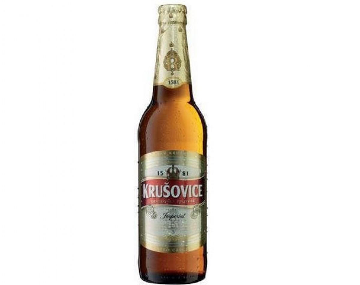 Bia krusovice Imperial 5% – chai 330ml