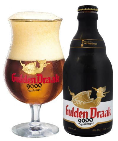 Bia Gulden Draak 9000 - 10,5% - chai 330 ml