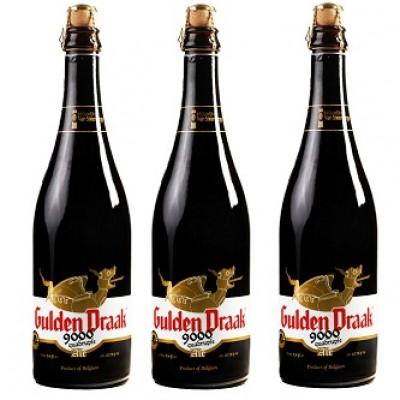 Bia Gulden Draak 9000 - 10,5% - chai 750 ml