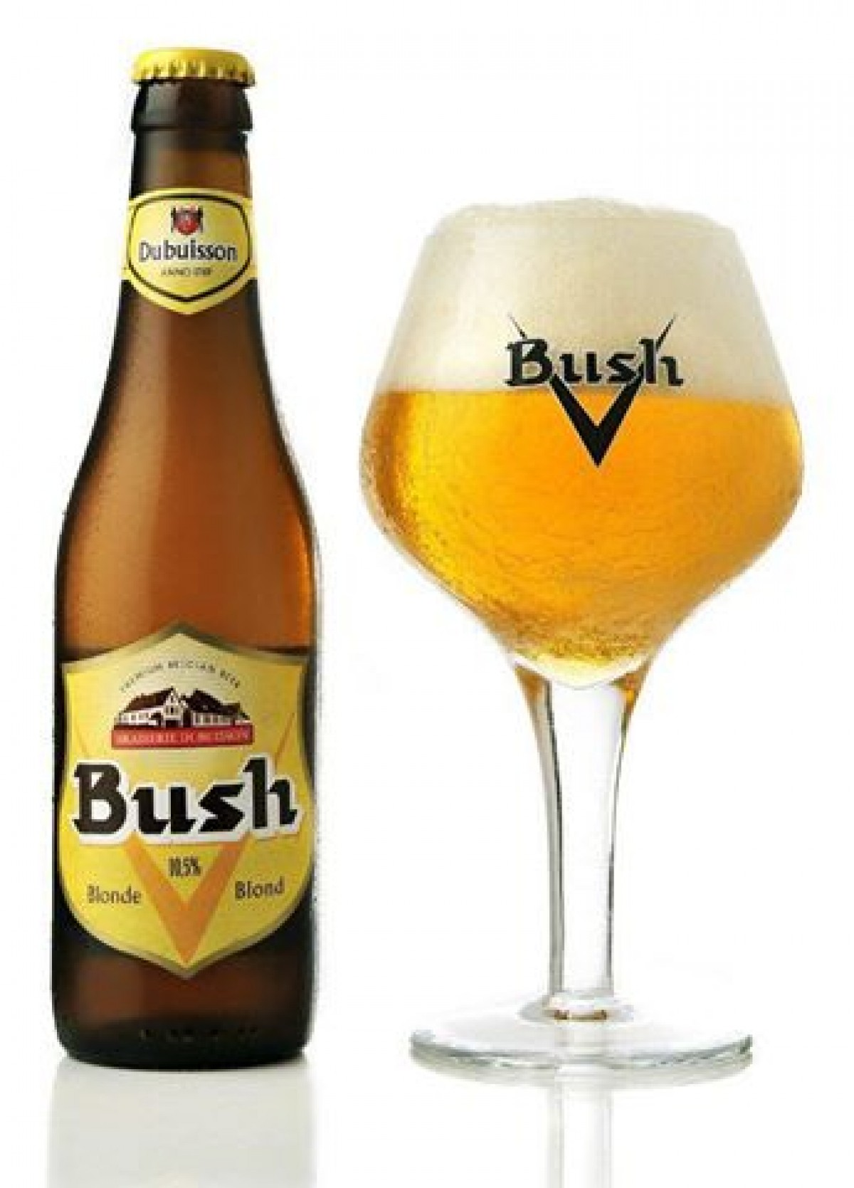 Bia Bush Blond 10.5%-chai 330ml