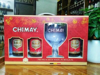 Xách Chimay đỏ 7%-chai 330ml