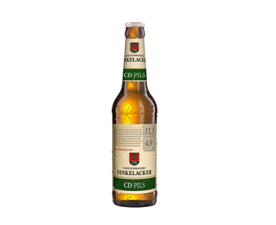 Bia Dinkelacker CD Pils 4,9% - chai 330ml