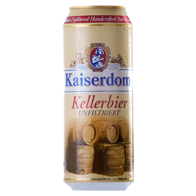 Bia Kaiserdom Kellerbier 4.7%–Lon 500ml