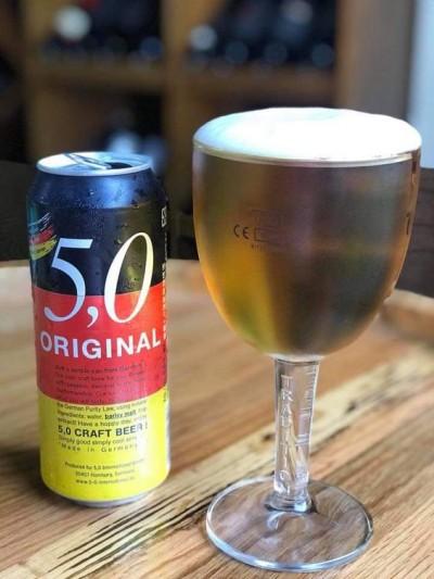 Bia Đức 5,0 Original 5% - lon 500ml