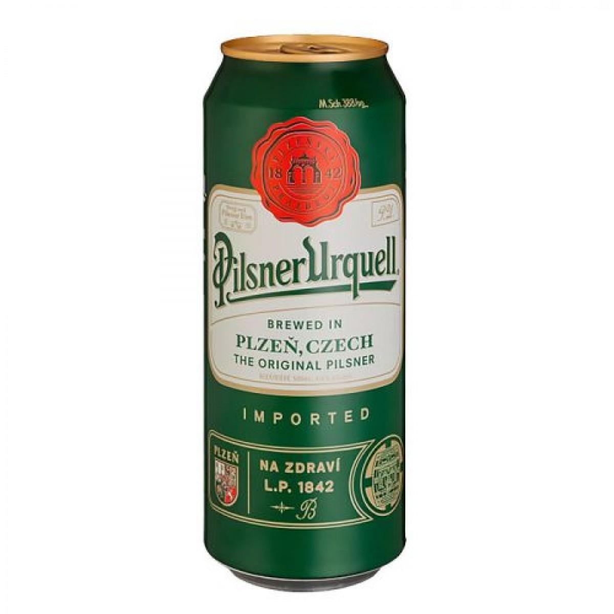 Bia Pilsner Urquell 4.4%-Lon 500ml
