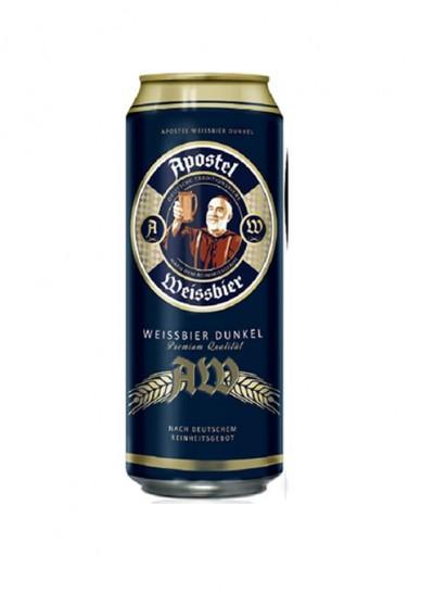 Bia Apostel Weissbier Dunkel 5.3% -Lon 500ml