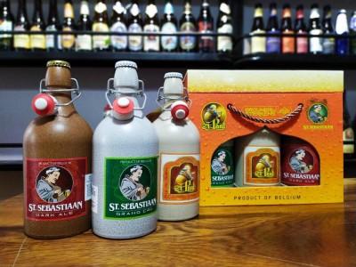Xách bia Sứ ST.Sebastiaan 7%-chai 500ml