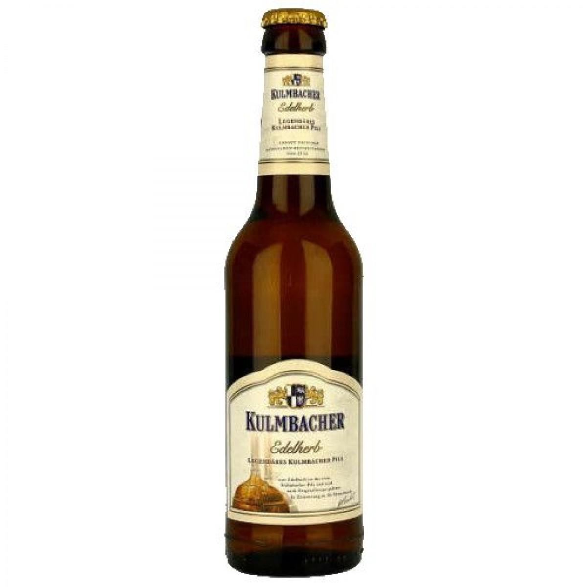 Bia Kulmbacher Edelherb 4.9%–chai 330ml
