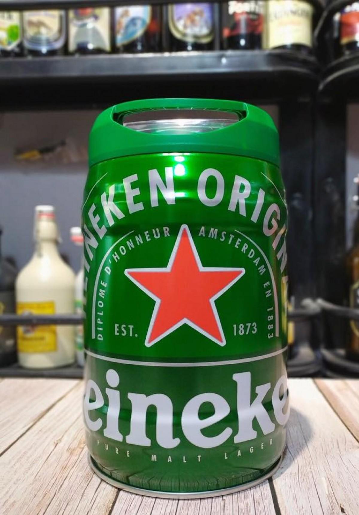 Bia Heineken Hà Lan 5%–bom 5 lít
