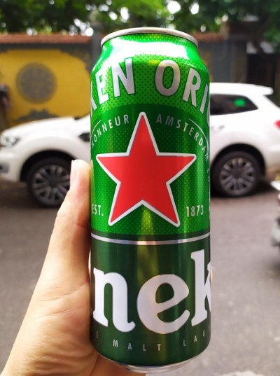Bia Heineken Hà Lan 5% - lon 500 ml