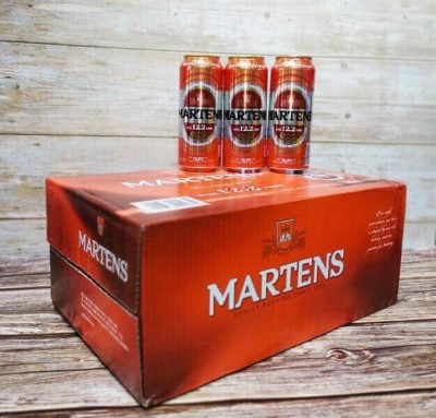 Bia Martens Strong 12.2%-lon 500ml