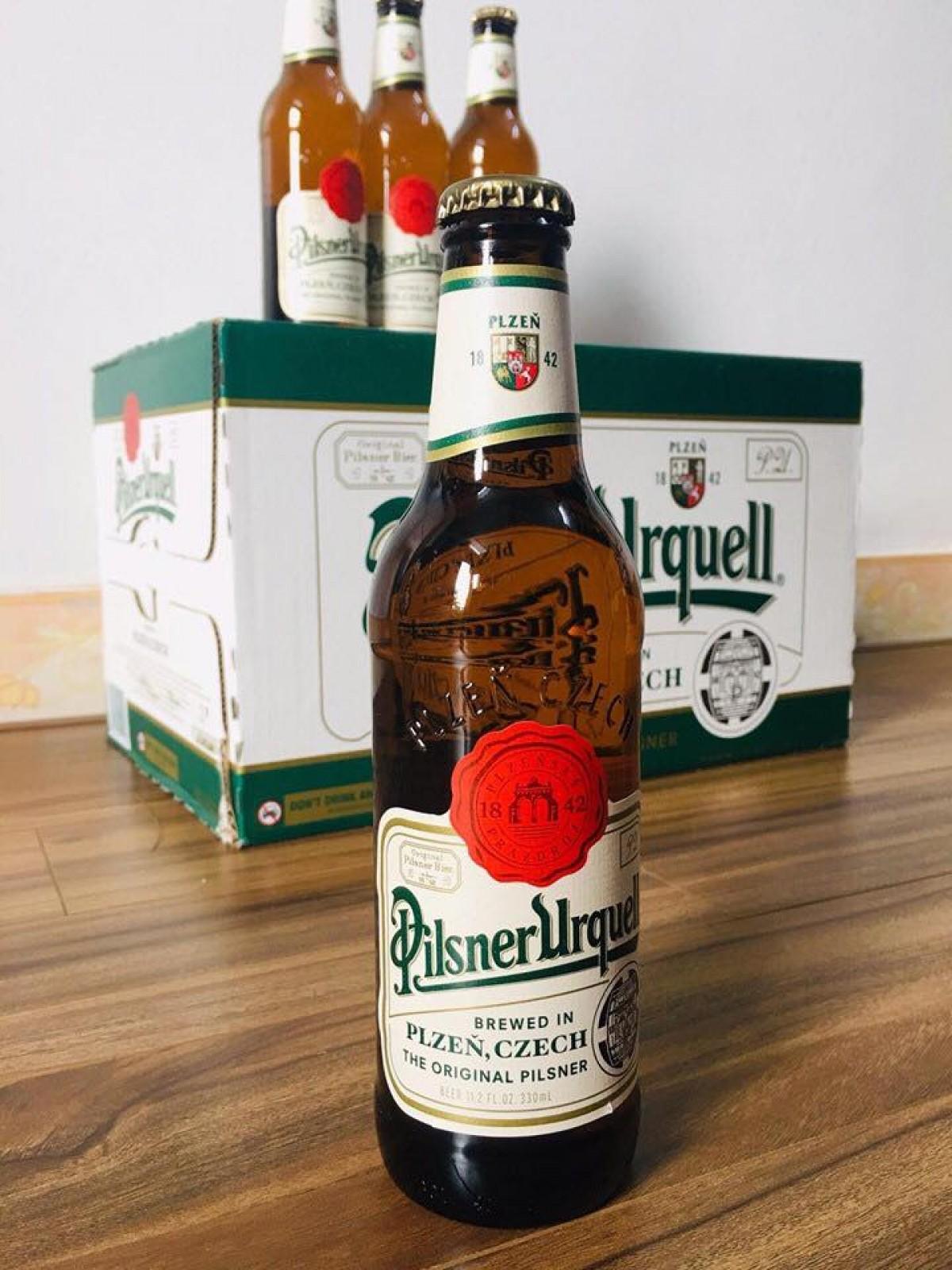 Bia Pilsner Urquell 5% - chai 330 ml
