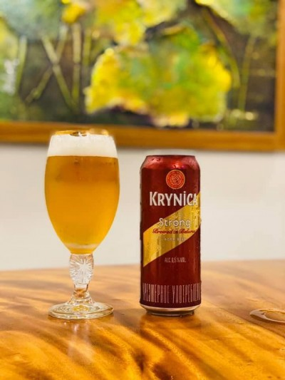 Bia Krynica Strong 6.5%–Lon 500ml