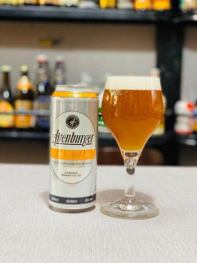 Bia Altenburger Weissbier 5.4% -Lon 500ml