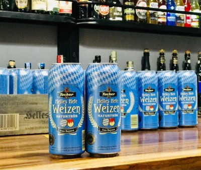 Bia Tucher Helles Hefeweizen 5.2%–Lon 500ml