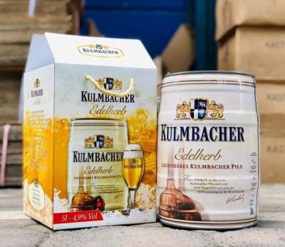 Bia Kulmbacher Edelherb 4.9%-Bom 5l