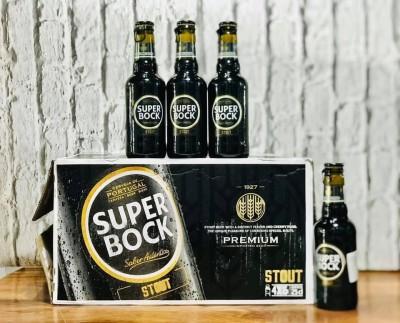 Bia Super Bock Stout 5%-Chai 250ml